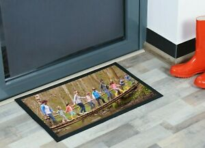Personalised door mat Custom printed with your image / photo / Logo
