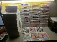 NO GAMES 220 Nintendo wii Case and Manual lot Many MANUALS HUGE HEAVY AND WOW