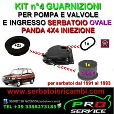 kit 4 guarnizioni per serbatoio FIAT PANDA 4X4 INIEZIONE manicotto OVALE