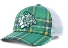 New NWT Chicago Blackhawks Adidas 2018 NHL St. Patrick's Day Adjustable Cap Hat