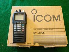 ICOM VHF Air Band Transceiver IC-A24