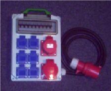 Stromverteiler,Adapter 32A auf CEE 1x32,1x16A,6x230V