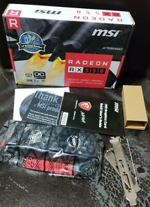 RADEON RX 550 2GT LP OC Low Profile Graphics Card Video