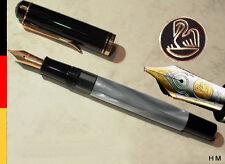 PELIKAN M 200 M Fountain Pen Old-Style NEW, ALTERNATIVE to SOUVERAN M400