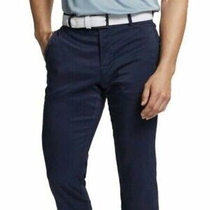 Nike Men's Slim Fit Flex Dri-Fit 6 Pocket Golf Pants, Brand New with Tags, Navy