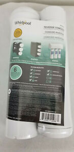 Whirlpool WHEERF Water Filter Cartridges Osmosis System 6 Month Life (2 Pack)