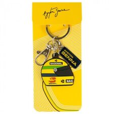 Ayrton Senna Collection Helmet F1 Keyring