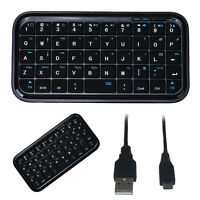 Mini Portable Bluetooth Wireless USB Keyboard For iPad-Laptop PC Android Tab PS3