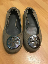 PREOWNED TORY BURCH  BALLERINA  SHOES SIZE 7 !!! CF