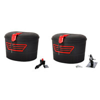 Electric Scooter Storage Carrying Basket with Lock for Xiaomi M365 Foldable P4E7
