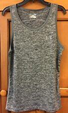 NWOT Under Armor Heat Gear Workout  Tank Top Size S Loose  Top Women's Grey