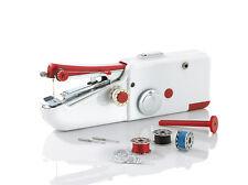 EASYmaxx Handnähmaschine Mini kompakt Reise elektrische Nähmaschine Batterie