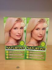 Naturtint Permanent Hair Colourant 2packs X 165  ML Light Down Blonde 10N
