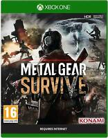 * XBOX ONE NEW SEALED Game * METAL GEAR SURVIVE inc SURVIVAL Pack DLC