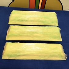 "Lot of 3 Pottery Barn Floating White Wall 24"" Cornice Molding Shelves USED NICE!"