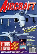 Aircraft Illustrated 1998 June Aerobatic Teams,DC4,F/A18,Airbus,Mirage