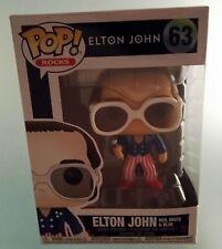 Elton John Red White Blue Funko Pop Figure Pop Rocks