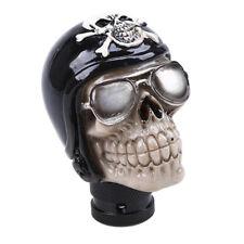 Black Skull Stolen Head Universal Car Manual Stick Gear Shift Knob Lever Shifter