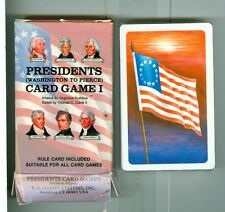 """Sealed Deck, """"Presidents #1"""" Playing Cards by US Games, USA, 1992, Non-Standard"""