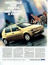 Publicité Advertising 109 1999  nouvelle Fiat Punto 5 portes