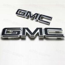 Black Emblem Kit Front & Rear Combo Set New 84395036 Gm For 2015-2019 Gmc Yukon (Fits: Gmc)