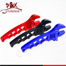Blue AN3 4 6 8 10 12AN Adjustable Aluminum Anodized Wrench Fitting Tools Spanner