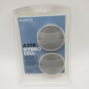 Boneco Hydro Cell A200 Humidifier Filter with Activated Carbon, 2 Pack, Gray