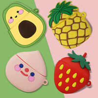 For Apple AirPod 1 2/Pro Charging Case Cute 3D Cartoon Fruit Silicone Skin Cover