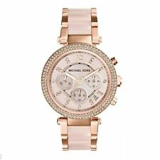 Import Michael Kors MK5896 women's Rose Gold Chronograph watch