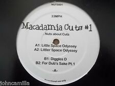 """MACADAMIA CUTS #1 ...NUTS ABOUT CUTS 12"""" RECORD - MACADAMIA MELODIES - NUTS001"""