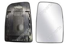 Mercedes Sprinter Wing Mirror Upper Large Glass SLIDE ON Sliding Type Right O/S