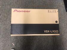 Pioneer Elite VSX-LX503 9.2-Channel Network AV Receiver, Brand New Free Shipping