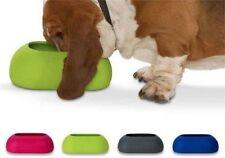 Gamelles et distributeurs vert pour chiens petits