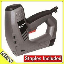 STAPLE NAIL GUN 8-14mm 240v Safety Striker System Easy Load staples included