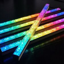 1X(COOLMOON Computer 5V/4PIN Aluminum RGB Color Light Strip Light with Magne a17