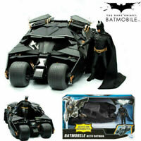 UK Batman Dark Knight Batmobile Tumbler Black Car Vehicle Toys With Box Kid Gift