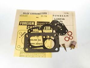 Carburetor Repair Kit Fits Sunbeam Alpine Rapier V & Alfa Romeo Giulia  SO-30K