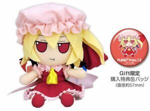 Touhou Plush Doll Series 26 Fumo Fumo Fran Ver.1.5 w/Button Badge New F/S