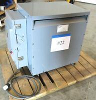 GE 9T23B3874 75 kVA 480 Delta 208Y/120V 3PH Transformer & 200A Disconnect STK#22