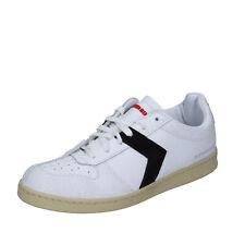herren schuhe SUPERBIKE 44 EU sneakers Weiß schwarz leder BP49-44
