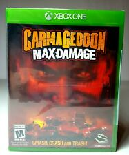 XBOX ONE CARMAGEDDON: MAX DAMAGE  Video Game Brand New Factory Sealed