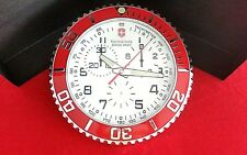 Victorinox Swiss Army Dealer Wall Clock (Classic Maverick II Chronograph design)