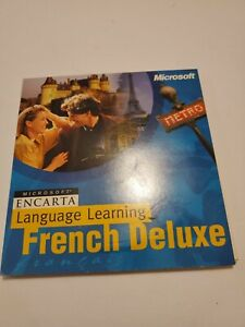 Microsoft Encarta Language Learning: French Deluxe [CD-ROM]