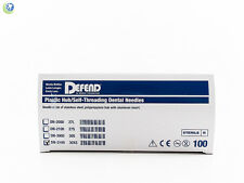 Dental Sterilized Disposable Injection Needles 30G Extra Short 0.3 X 16mm 100Box