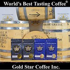Jamaica Blue Mountain Coffee 2lb plus Blue Mountain PeaBerry 2lb = 4 lb. total
