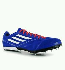 ADIDAS ADIZERO MD 2 Athletics Running Spikes Mens Trainers Blue uk 12 eu 47