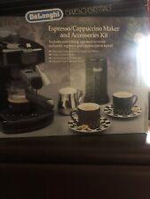 Brand New DeLonghi Espresso/Cappuccino Maker and Accessories Kit Bar-4EE