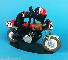 Moto Joe Bar Team Chris Deb Honda 350 CB Kité Racing  1/18 figurine