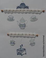 Plauener punta ® vento gioco Caffè Brocca finestra Immagine Cucina Decorazione Caffè Blu