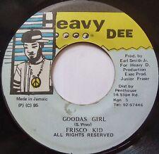 FRISCO KID ~ JAMAICA dancehall REGGAE 45 ~ HEAR IT ~ HEAVY DEE!